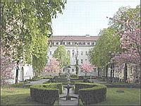 DHZB - внутренний дворик центра