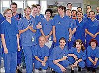 Средний медицинский персонал отделения интенсивной терапии
