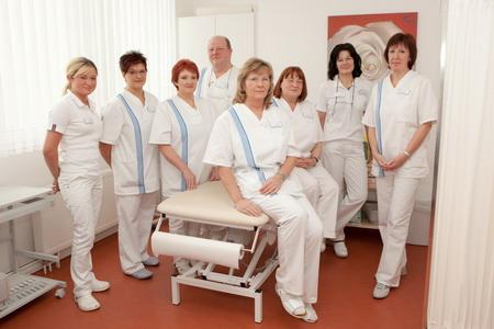 Медицинский персонал клиники Kurpark